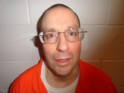 Mug shot taken in 2012. Hofmann has reportedly led a quiet life in prison for many years, talking to no one in the news media, occasionally writing to friends and family.